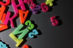 五颜六色的信函 免版税库存照片