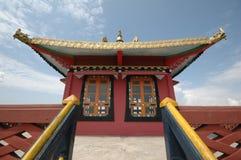 五颜六色的修道院 图库摄影
