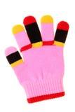 五颜六色的儿童手套 免版税图库摄影