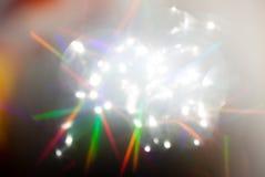 五颜六色的光和迷离 向量例证