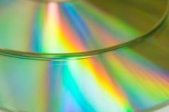 五颜六色的光的反射 图库摄影
