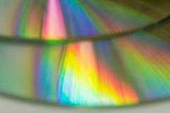 五颜六色的光的反射 库存照片