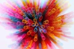 五颜六色的光的抽象图象爆炸 免版税库存照片