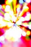 五颜六色的光 免版税库存照片