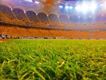 五颜六色的全国竞技场,布加勒斯特罗马尼亚 免版税库存图片