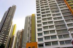 五颜六色的公寓 库存图片