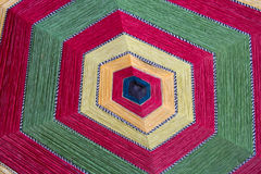 五颜六色的六角形 免版税库存图片