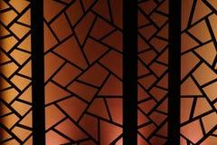 五颜六色的关闭折叠的屏幕 免版税库存照片