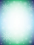 五颜六色的冬天背景 库存照片