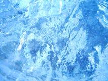 五颜六色的冰 抽象冰纹理 背景蓝色云彩调遣草绿色本质天空空白小束 免版税库存图片