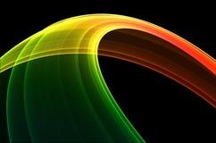 五颜六色的冷静环形 皇族释放例证
