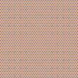 五颜六色的减速火箭的特征模式织品例证无缝的样式背景 库存图片