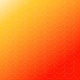 五颜六色的几何无缝的反复传染媒介弯曲的波动图式纹理背景 库存例证