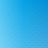 五颜六色的几何无缝的反复传染媒介弯曲的波动图式纹理背景 免版税库存图片