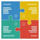 五颜六色的几何苦读者企业图图 免版税库存照片