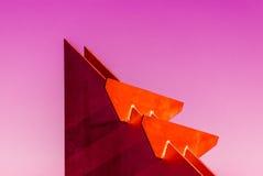 五颜六色的几何 免版税图库摄影