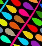 五颜六色的分行 免版税库存图片