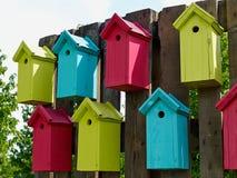 五颜六色的创造性的嵌套箱 免版税库存图片