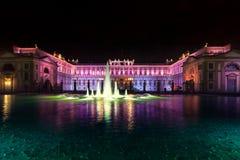 五颜六色的别墅蒙扎Reale  免版税图库摄影