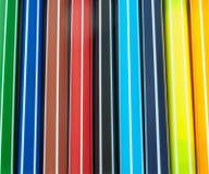 五颜六色的制造商笔特写镜头 免版税图库摄影