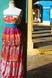 五颜六色的加勒比时尚 库存图片