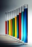 五颜六色的化学制品 免版税图库摄影