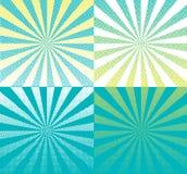 五颜六色的半音模式 库存照片