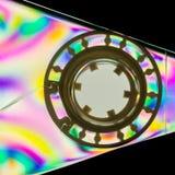 五颜六色的卡式磁带 免版税库存照片