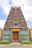 五颜六色的印度寺庙致力Murugan阁下 库存图片