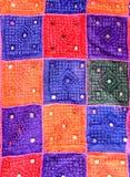 五颜六色的印第安动机 库存图片