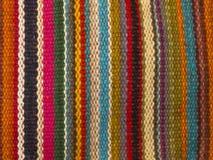 五颜六色的印第安地毯样式 免版税库存照片