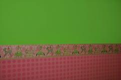 五颜六色的厨房墙壁 图库摄影