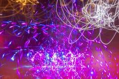 五颜六色的发光的不规则的织地不很细背景 图库摄影