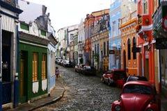 五颜六色的古巴 图库摄影