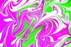 五颜六色的可变的绘画摘要纹理,艺术技术 库存照片