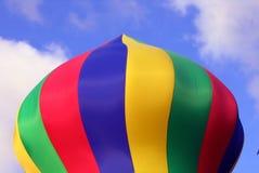 五颜六色的可膨胀的柱子 免版税库存图片