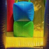 五颜六色的可膨胀的比赛 库存图片