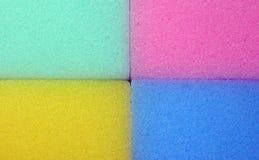 五颜六色的吸水的纹理 免版税库存照片