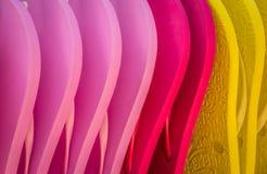 五颜六色的啪嗒啪嗒的响声待售 库存照片