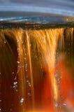 五颜六色的喷泉 库存照片