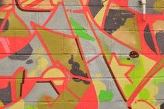 五颜六色的喷漆纹理背景 免版税库存图片