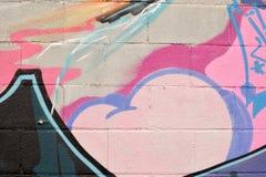 五颜六色的喷漆纹理背景 库存照片
