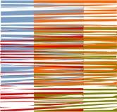 五颜六色的图形设计数据条 库存照片