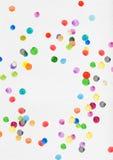 五颜六色的圆点 库存照片
