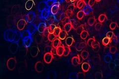 五颜六色的圈子抽象背景在行动的 库存照片