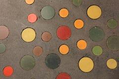 五颜六色的圈子 免版税图库摄影