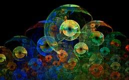 五颜六色的圈子 免版税库存照片