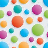 五颜六色的圈子walpaper 图库摄影