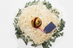 五颜六色的圣诞节或新年装饰 库存照片