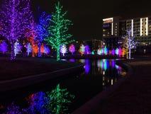 五颜六色的圣诞节 图库摄影